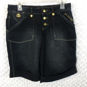 Dereon by Beyoncé Denim Bermuda Shorts